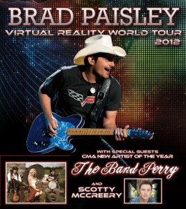 Brad Paisley and The Band Perry Gexa Energy Pavilion