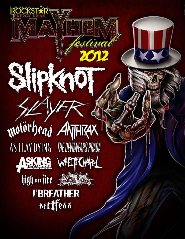 Rockstar Energy Mayhem Festival 2012 Gexa Energy Pavilion