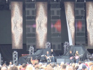Miranda Lambert and Dierks Bentley-Gexa Energy Pavilion