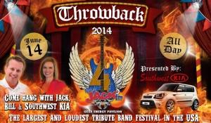 Jack FM Throwback Festival Gexa Energy Pavilion