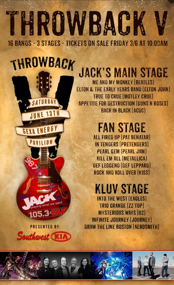 Jack FM's Throwback Festival